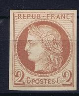 Colonies Francaises  Yv 15  MH/* Flz/ Charniere  Tres Belles Marges - Ceres