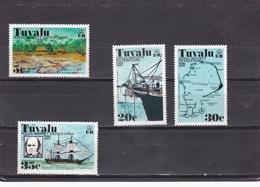 Tuvalu Nº 55 Al 58 - Tuvalu
