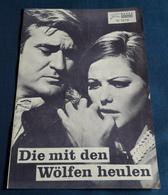 "Claudia Cardinale, Rod Taylor, Harry Guardino > ""Die Mit Den Wölfen Heulen"" > Altes NFP-Filmprogramm '1968 (fp364) - Sonstige"
