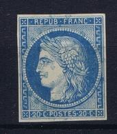 Colonies Francaises  Yv 12  Belles Marges Cachet En Bleu - Ceres