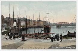 The Harbour, Ramsey, I.O.M. - Valentine Souvenir Series 20040 - Isle Of Man