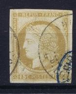 Colonies Francaises  Yv19 Belles Marges Cachet A Date  Blue - Ceres