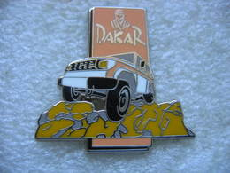 Pin's DAKAR Voitures, 4x4 - Badges