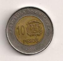 Dominicaine - 10 Pesos 2008 - Dominicaine