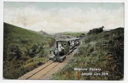 Miniature Railway, Groudle Glen, I,O,M, - Valentine Souvenir Series - Isle Of Man