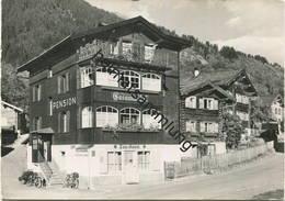 Klosters-Dorf - Pension Casannablick - Foto-AK Grossformat - Verlag Foto Schmelz Klosters Gel. 1948 - GR Graubünden