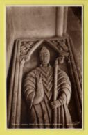 Devon - Exeter Cathedral, Tomb Of Leofric, 1st Bishop - Walter Scott Real Photo Postcard - Exeter