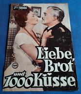 """Sophia Loren, Vittorio De Sica, Lea Padovani > """"Liebe, Brot Und 1000 Küsse"""" > Altes NFP-Filmprogramm '1956 (fp324) - Zeitschriften"""