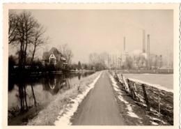 Usine  C.1954 - Aalst Alost ? - Photo C.7 X 10cm Belgique   Foto Usines - Lieux
