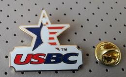 USA Bowling Federation Pin  USBC - Bowling