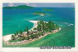 Cartolina Repubblica De Honduras (CAYOS COCHINOS) - Per Bologna 2001 (vedi Foto) - Honduras