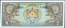 BHUTAN - 2 Ngultrum Nd.(1981) {Prefix B/1} UNC P.6 - Bhoutan