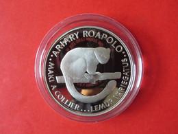 25 JAHRE WWF KAIMAN-INSELN CAYMAN 5 Dollars Silbermünze Silver Coin / Ag 925 PP / Vögel Birds Papagei Parrot - Kaimaninseln