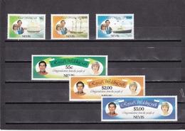 Nevis Nº 65 Al 70 - St.Kitts Y Nevis ( 1983-...)