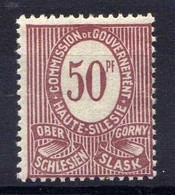 Oberschlesien, 1920, Mi 7 * [020619XXVII] - Germany
