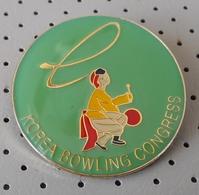 Korea Bowling Congress Pin - Bowling