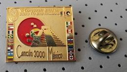 Bowling World Championship Cancun 2000 Mexico Pin - Bowling
