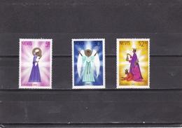 Nevis Nº 48 Al 50 - St.Kitts Y Nevis ( 1983-...)
