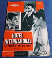 "Elizabeth Taylor, Richard Burton, Elsa Martinelli > ""Hotel International (THE V.I.P.s)"" > Altes IFB-Filmprogramm (fp136) - Zeitschriften"