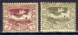 Oberschlesien, 1920, Mi 14; 21 ** [020619XXVII] - Germany
