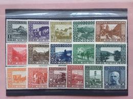 BOSNIA ERZEGOVINA 1910 - 80° Compleanno - Nn. 45/60 Completa - Nuovi ** + Spese Postali - Bosnia Erzegovina