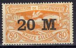 Oberschlesien, 1922, Mi 43 * [020619XXVII] - Germany