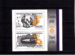 Olympics 2002 - Ice Hockey - BOSNIA & HERCEGOWINA - S/S Imp. MNH - Winter 2002: Salt Lake City