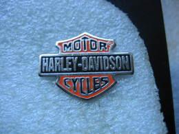 Pin's Moto Harley Davidson, Motor Cycles - Motos