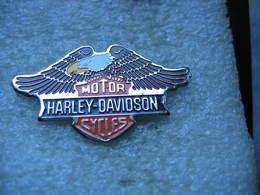 Pin's Moto Harley Davidson, Motor Cycles. Aigle - Motos