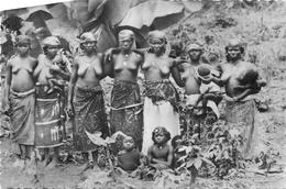 CPM THEMES PIN_UPS AFRIQUE SCENES/TYPES FEMMES SEINS NUS N°2039 TRAVAIL DANS LES PLANTATION DE BANANES VOIR IMAGES - Postkaarten