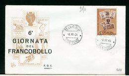 ITALIA - FDC - 1964 -  GIORNATA DEL FRANCOBOLLO - 6. 1946-.. Repubblica