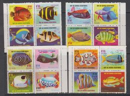 Guinea Eq. 1974 Fishes 16v Used (42940D) - Equatoriaal Guinea