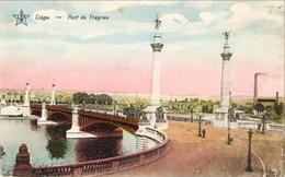 LIEGE - Pont De Fragnée - Oblitération De 1924 - Editeur : Emile Dumont - Liege