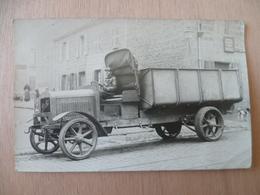 CARTE PHOTO CAMION  BERLIET - Cartes Postales