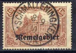 Memel 1920 Mi 11, Gestempelt [020619XXVII] - Memelgebiet