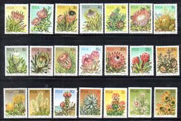 CI1265 - SUD SOUTH AFRICA 1977 , Serie Ordinaria Yvert N. 416/432+ 433/436  ***  MNH  (2380A) . - Nuovi