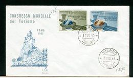 ITALIA - FDC - 1963 - TURISMO - 6. 1946-.. Repubblica