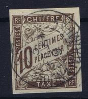 Colonies Francaises Tax Yv 19 Cachet A Date Nouvelle Caladonie Noumeá - Impuestos