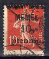 Memel 1920 Mi 19 Y, Gestempelt [020619XXVII] - Memelgebiet