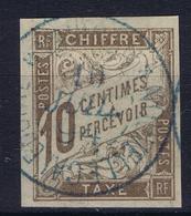 Colonies Francaises Tax Yv 19 Cachet A Date Nouvelle Caladonie - Postage Due