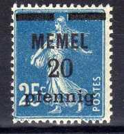 Memel 1920 Mi 20 * [020619XXVII] - Memelgebiet