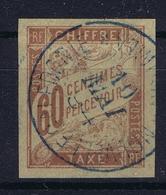 Colonies Francaises Tax Yv 24 Cachet A Date Nouvelle Caladonie - Impuestos