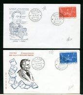 ITALIA - FDC - 1962 - GIOVANNI  PASCOLI - 6. 1946-.. Repubblica