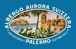 @@@ MAGNET - Albergo Aurora Svizzera Palermo Italy Sicily - Advertising