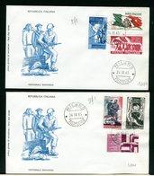ITALIA - FDC - 1965 - VENTENNALE RESISTENZA - 6. 1946-.. Repubblica