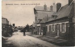 CPA MORGNY 27 - Route De Lyons La Forêt - France