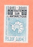 WP12L2 TAAF Terres Australes Antarctique FSAT ** 2001 Traité De L'Antarctique N - Poste Aérienne
