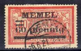 Memel 1920 Mi 24, Gestempelt [020619XXVII] - Memelgebiet