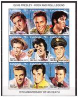 TANZANIA 1992 Elvis Presley  M/S  MNH - Tansania (1964-...)
