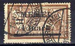 Memel 1920 Mi 26, Gestempelt [020619XXVII] - Memelgebiet